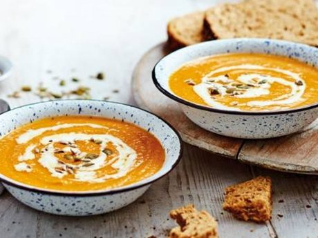 Caramelised carrot soup